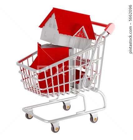 Shopping cart 5662096
