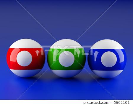 Billiard balls 5662101