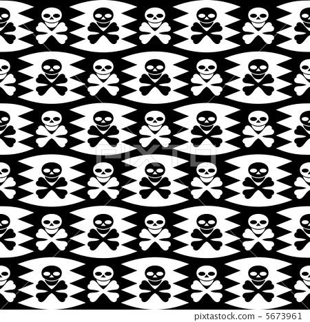 海盜標誌。 5673961