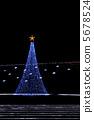 圣诞节灯火 圣诞树 照明 5678524