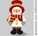 Snowman color 03 5683660