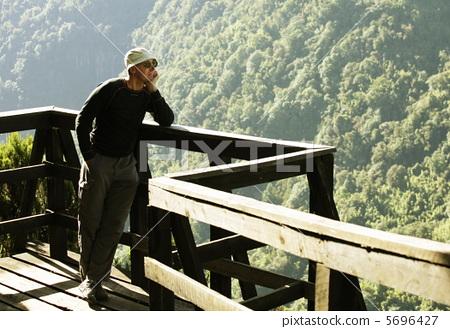 Tourist in jungle 5696427