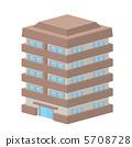 豪宅建筑图图标 5708728