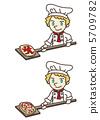 pizza, cook, pizzeria 5709782