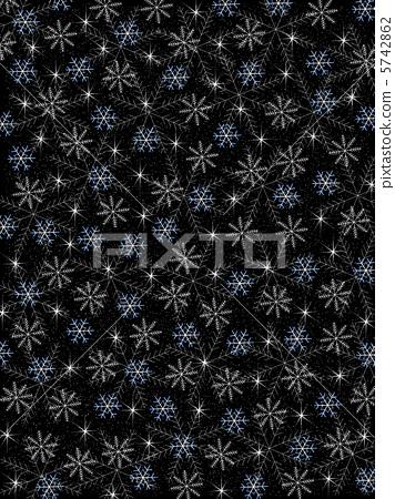 Christmas background snow crystal 5742862