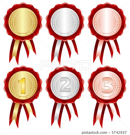Laurel medal frame 5742937