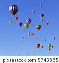 balloon, blimp, hot-air balloon 5743865