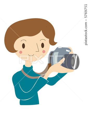 Camera operation woman 5769751