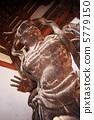 石山寺的Nikyo雕像 5779150