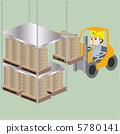 載入 矢量 貨物 5780141