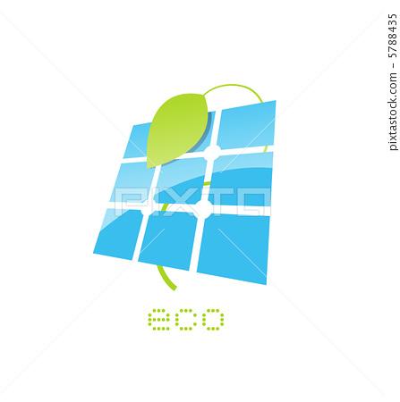 solar panel sign 5788435