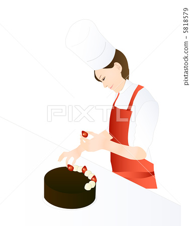 Pastry cake making cake 5818579