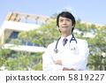 의사 초상화 5819227