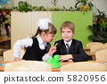 The conversation schoolchild. 5820956