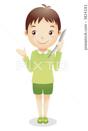 Male child illustration 5824191