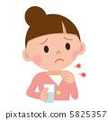 一个喉咙痛的女人 5825357