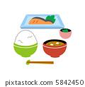 อาหารเช้า,มิโสะ,อาหารญี่ปุ่น 5842450