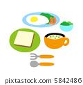 อาหารเช้า,กิน,มื้ออาหาร 5842486