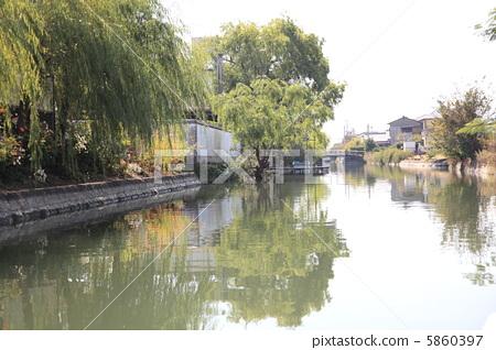 야나가와 강 하향 류 5860397
