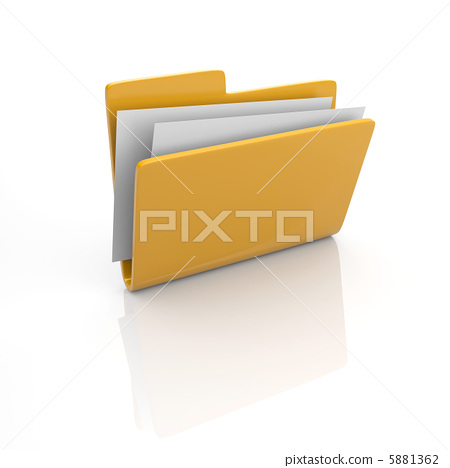 Folder icon 3d 5881362