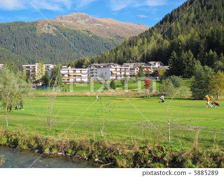 스위스 (유럽) 산맥 / 거리 5885289