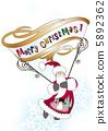 聖誕夜 聖誕卡 聖誕老人 5892362