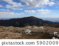 Tanzawa · Sanno Overlooking Oyama from the top of the mountain 5902009