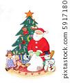 聖誕老人和禮物 5917180