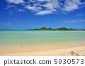 오키나와 이시가키 섬 底地 해변의 풍경 사진 5930573