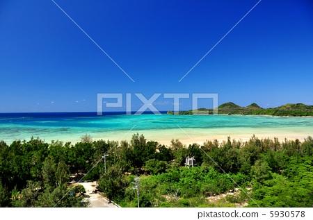 Okinawa Ishigaki-jima baseland landscape photo 5930578