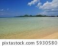 오키나와 이시가키 섬 底地 해변의 풍경 사진 5930580
