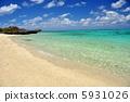 오키나와 이시가키 섬의 해변 풍경 사진 5931026