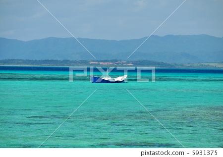 沖繩竹富島的風景照片 5931375