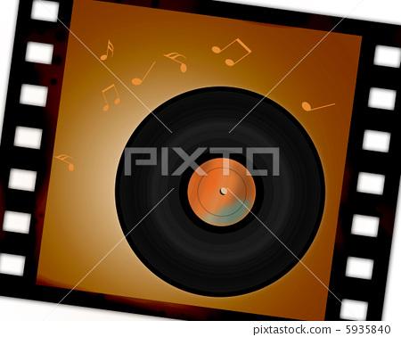記錄板和老電影 5935840