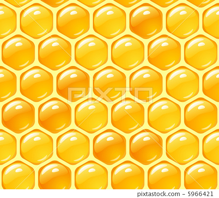 Vector honey background 5966421