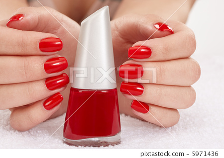 Female hands with manicure 5971436