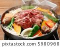 meat dish, lamb, jingisukan 5980968