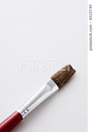 Up paint brush on canvas 6023740