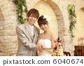 新郎 婚礼 新娘 6040674