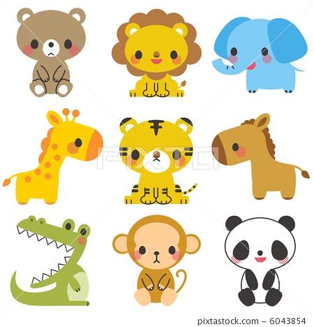 動物插圖 6043854