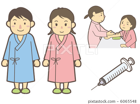 Health checkup & injection 6065548