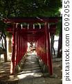 신사, 신사입구 기둥문, 신주쿠 6092055