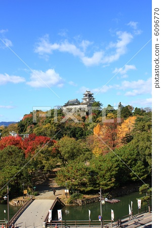 Land Autumn's National Treasure Kochi Castle Observing the castle tower 2012.11.19 Shooting 6096770
