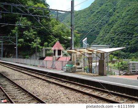 Oigawa Railway Station Nagashima Dam Station 6111599