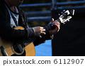 pluck, repel, guitarist 6112907