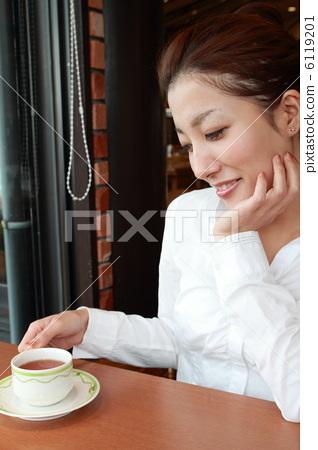 OL在咖啡館 6119201
