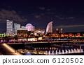 มุมมองตอนกลางคืนของ Yokohama 6120502