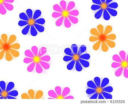 Retro flower pattern 6135320