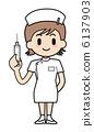 護士·注射 6137903