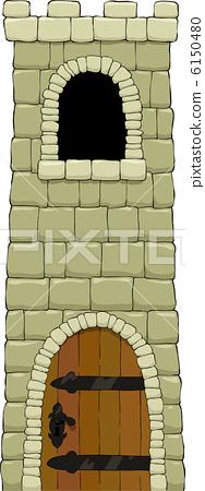 Cartoon tower 6150480
